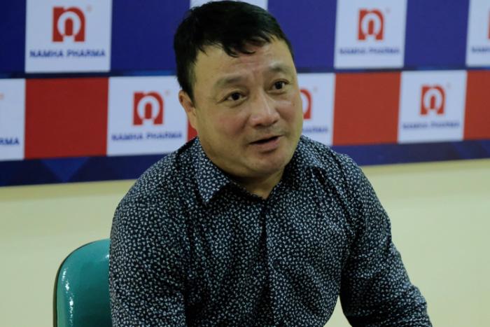HLV Trương Việt Hoàng khẳng định vị trí á quân Cúp QG 2020 đã là thành tích rất đáng khích lệ đối với Viettel.