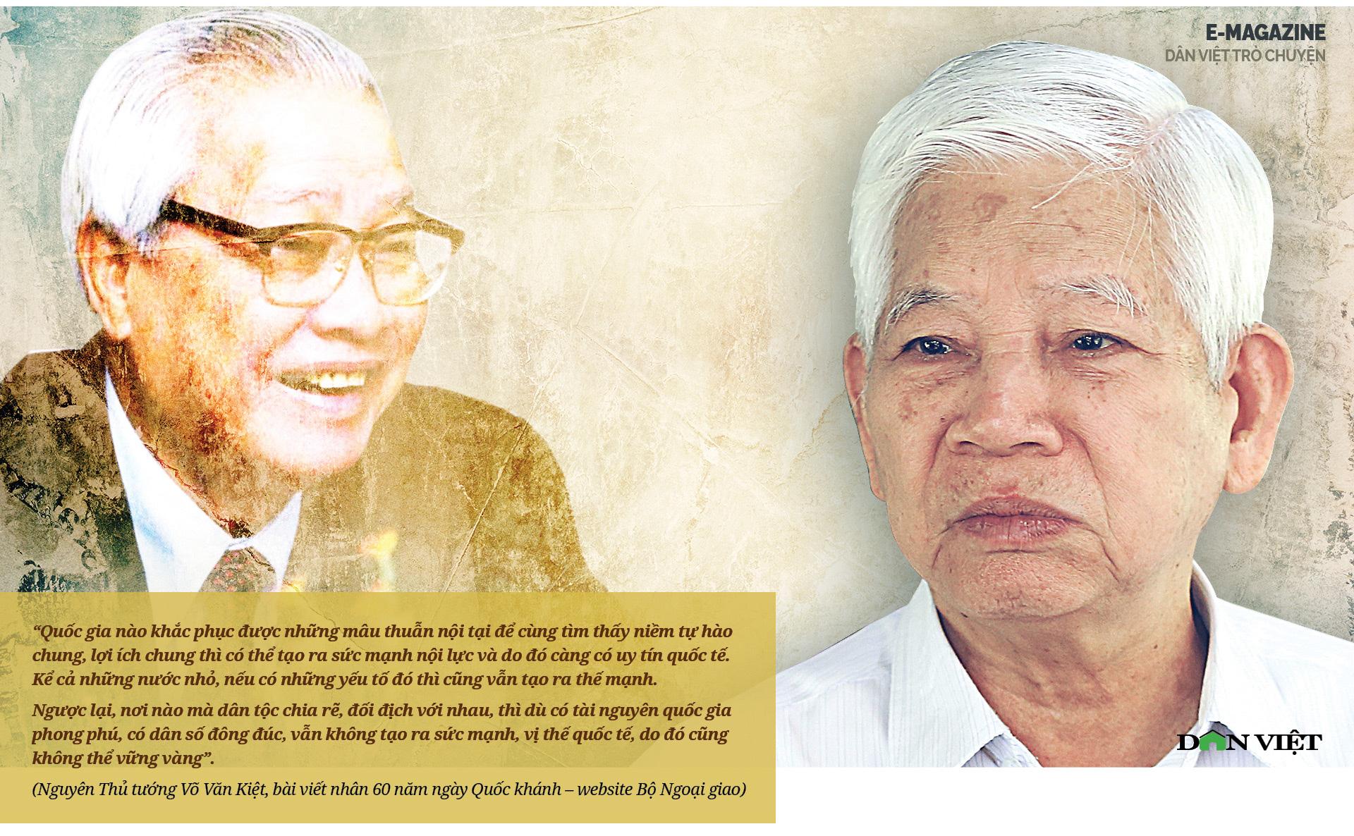 """Nguyên Chủ tịch Nước Nguyễn Minh Triết: """"Con người không phải sinh ra để mãi hận thù..."""" - Ảnh 4."""