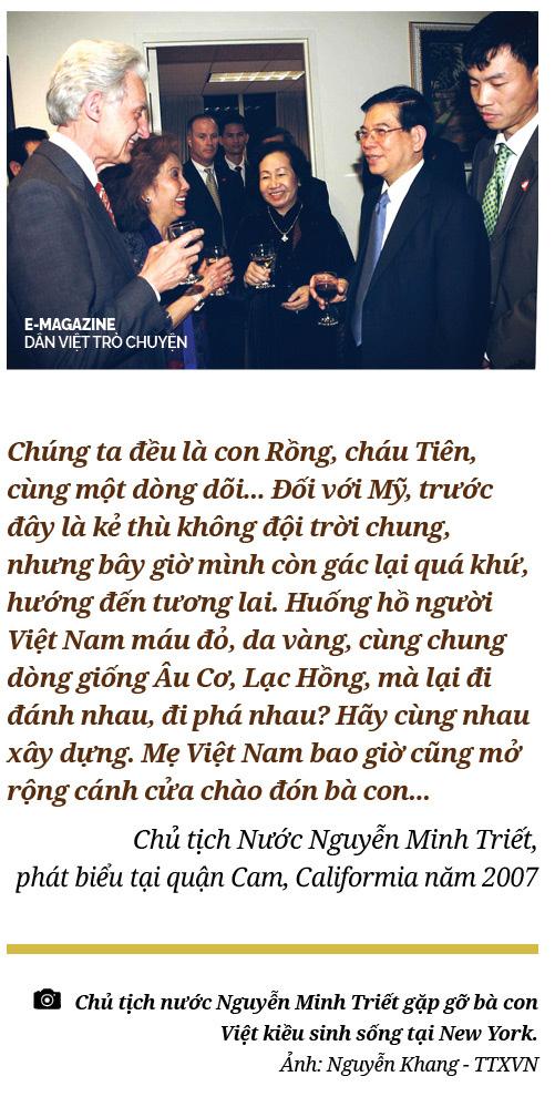 """Nguyên Chủ tịch Nước Nguyễn Minh Triết: """"Con người không phải sinh ra để mãi hận thù..."""" - Ảnh 6."""