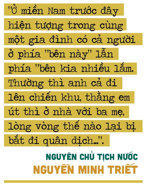 """Nguyên Chủ tịch Nước Nguyễn Minh Triết: """"Con người không phải sinh ra để mãi hận thù..."""" - Ảnh 8."""