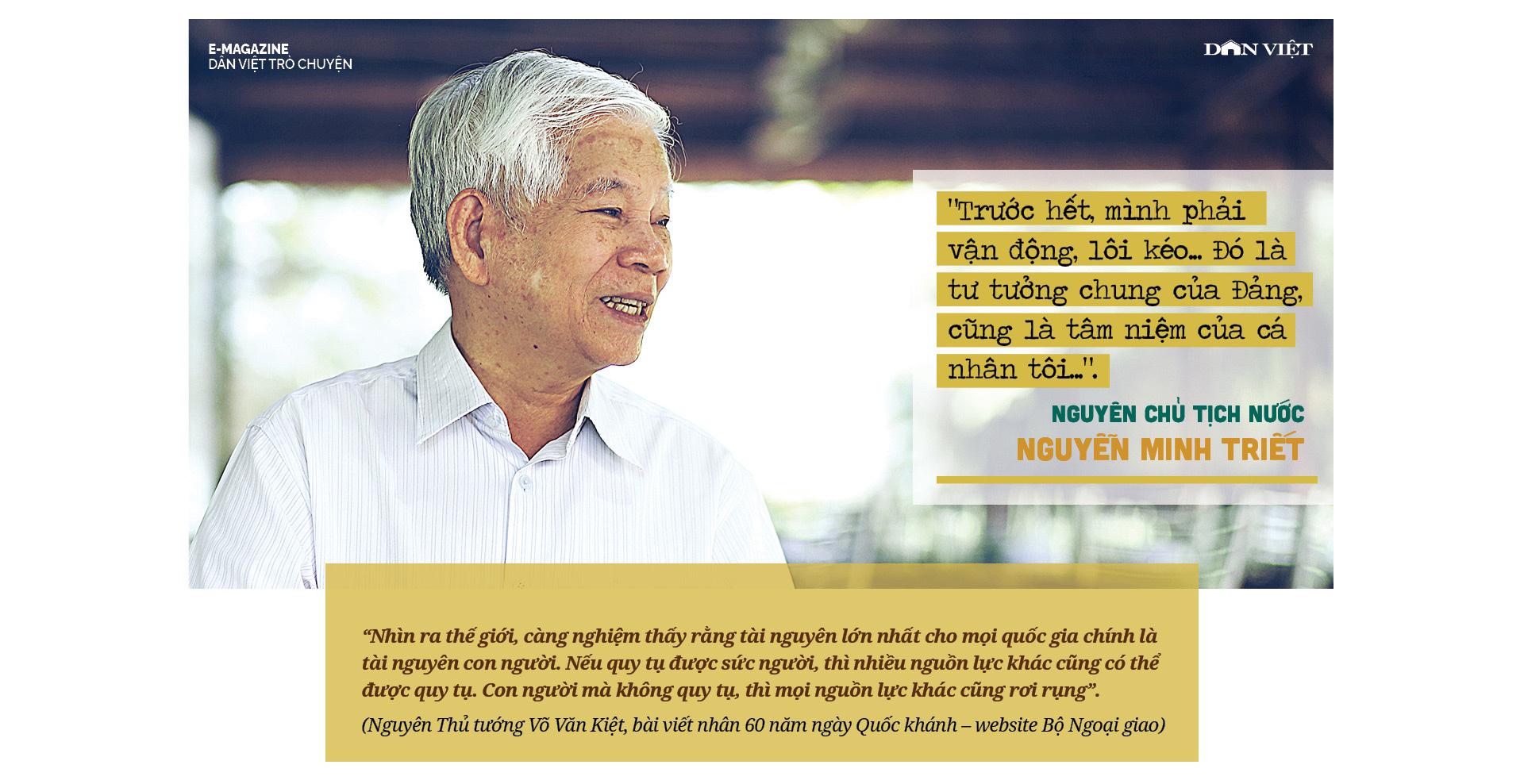 """Nguyên Chủ tịch Nước Nguyễn Minh Triết: """"Con người không phải sinh ra để mãi hận thù..."""" - Ảnh 9."""