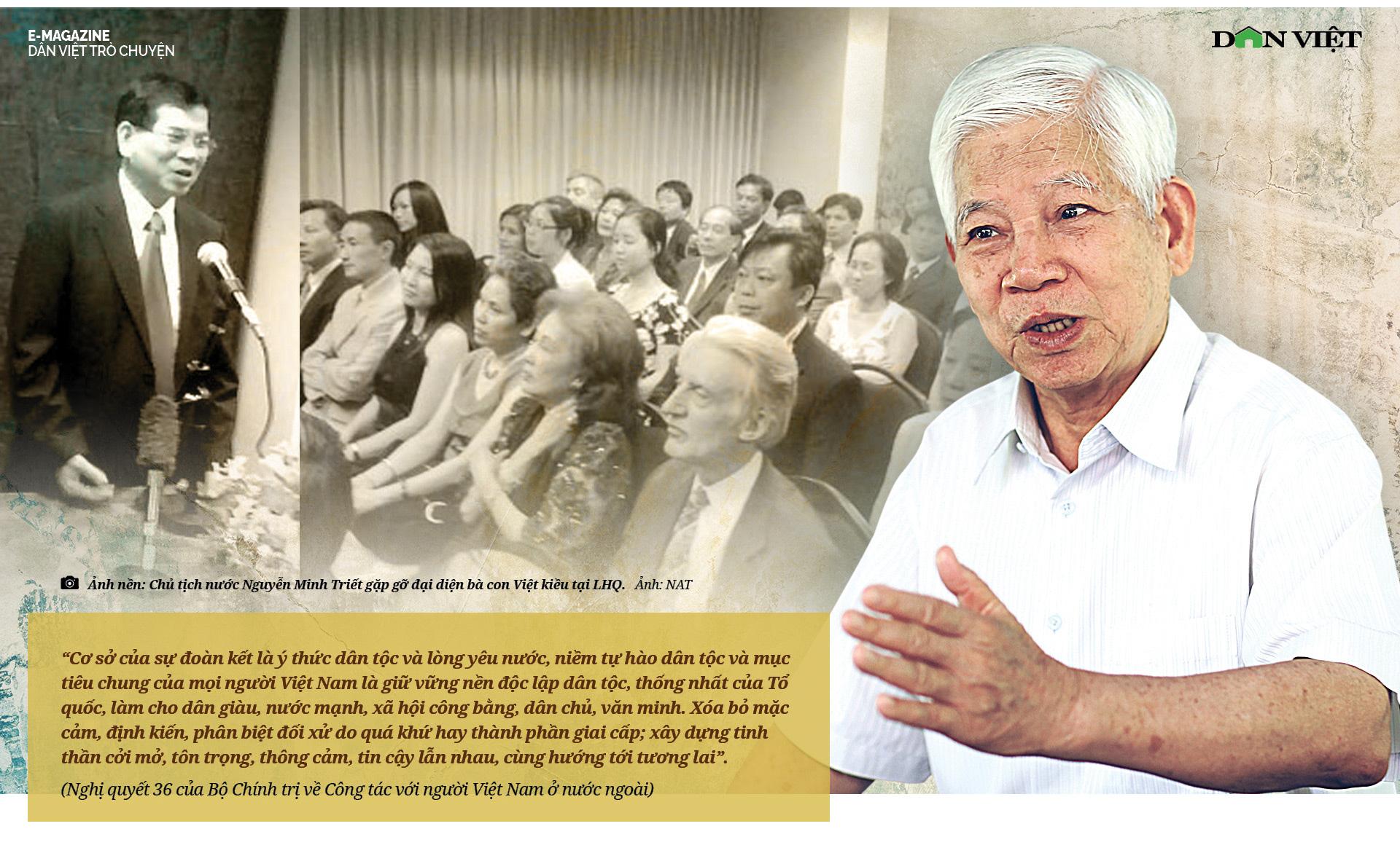"""Nguyên Chủ tịch Nước Nguyễn Minh Triết: """"Con người không phải sinh ra để mãi hận thù..."""" - Ảnh 12."""