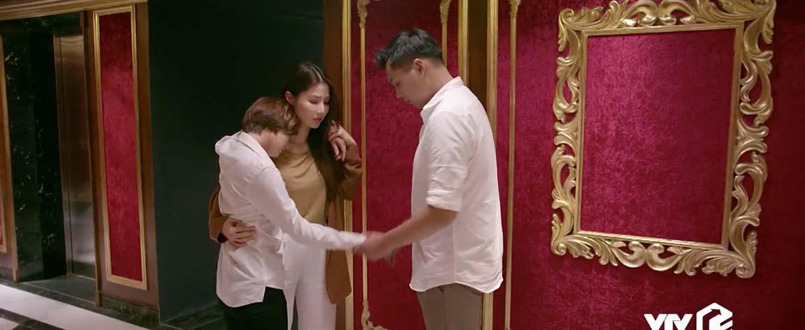 Tình yêu và tham vọng tập 53: Linh tránh mặt Minh, Sơn cưỡng hôn Linh  - Ảnh 2.