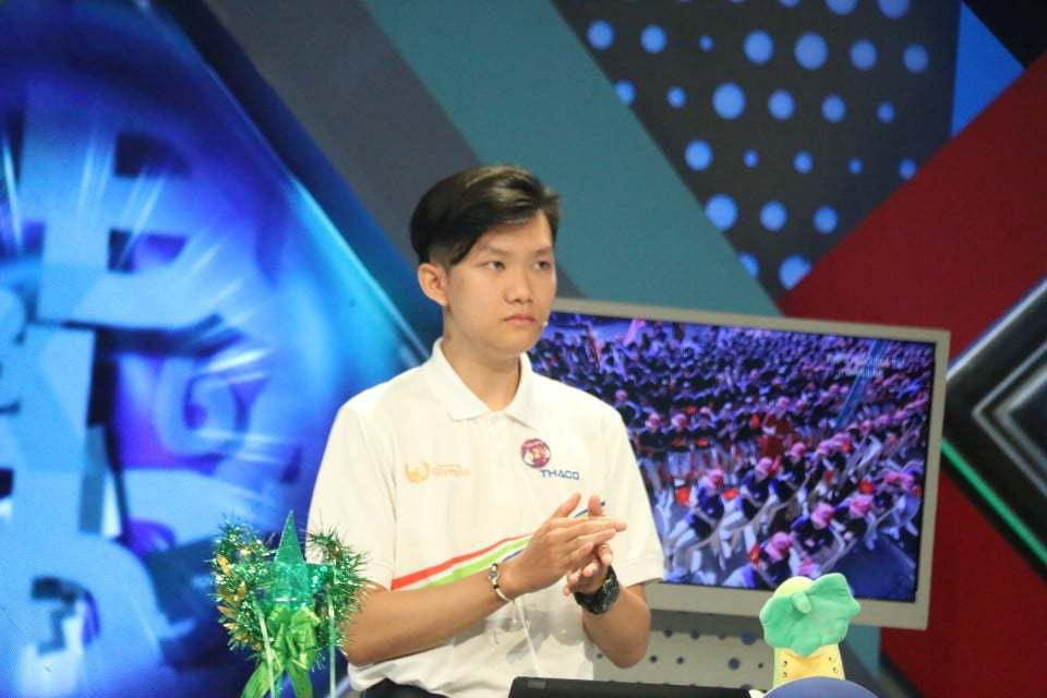 """Thu Hằng đang dẫn đầu chung kết Đường lên đỉnh Olympia 2020 sau phần thi Vượt chướng ngại vật cực """"đỉnh"""" - Ảnh 2."""