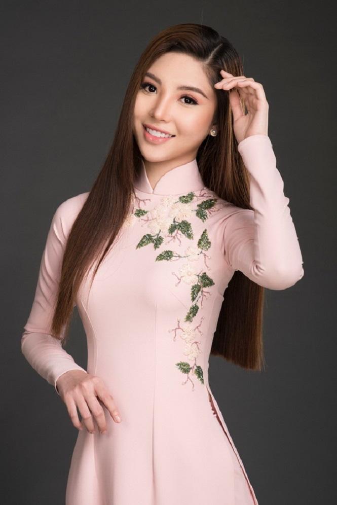 Nguyễn Mỹ Huyền: Từ hoa khôi bóng chuyền đến Hoa hậu quốc tế - Ảnh 6.
