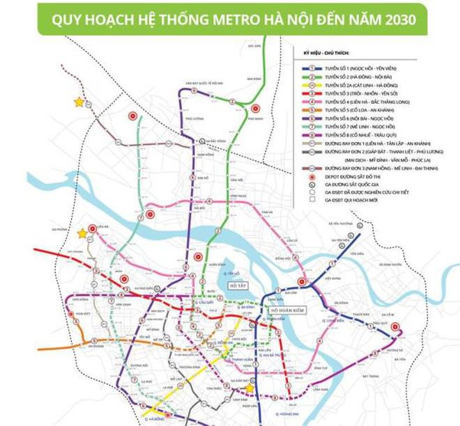 Hà Nội trình Thủ tướng dự án tuyến metro 65.400 tỷ đồng vốn đầu tư đi qua 7 quận huyện - Ảnh 1.