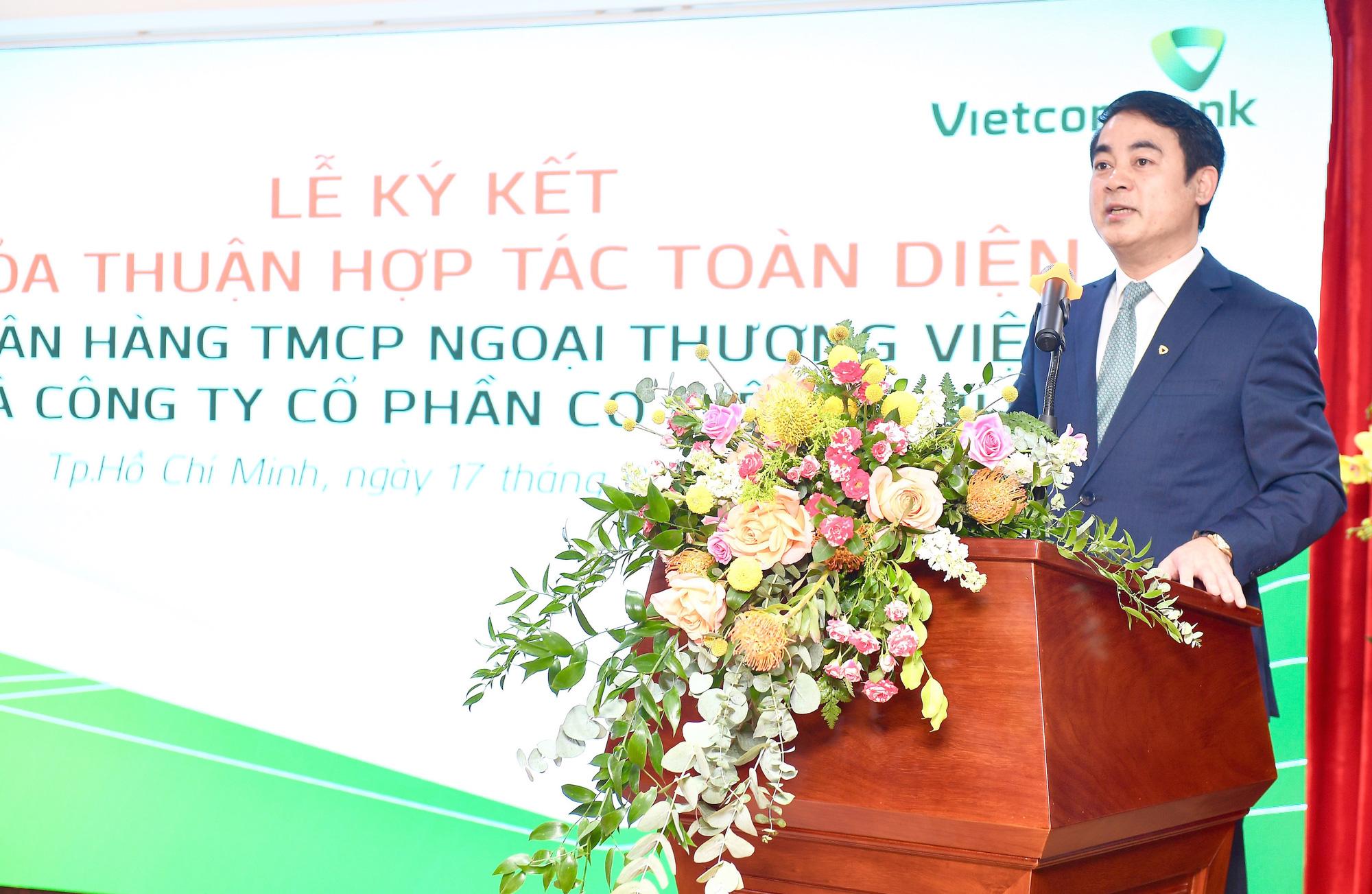 Vietcombank và REE Corporation ký kết Thoả thuận Hợp tác toàn diện - Ảnh 1.