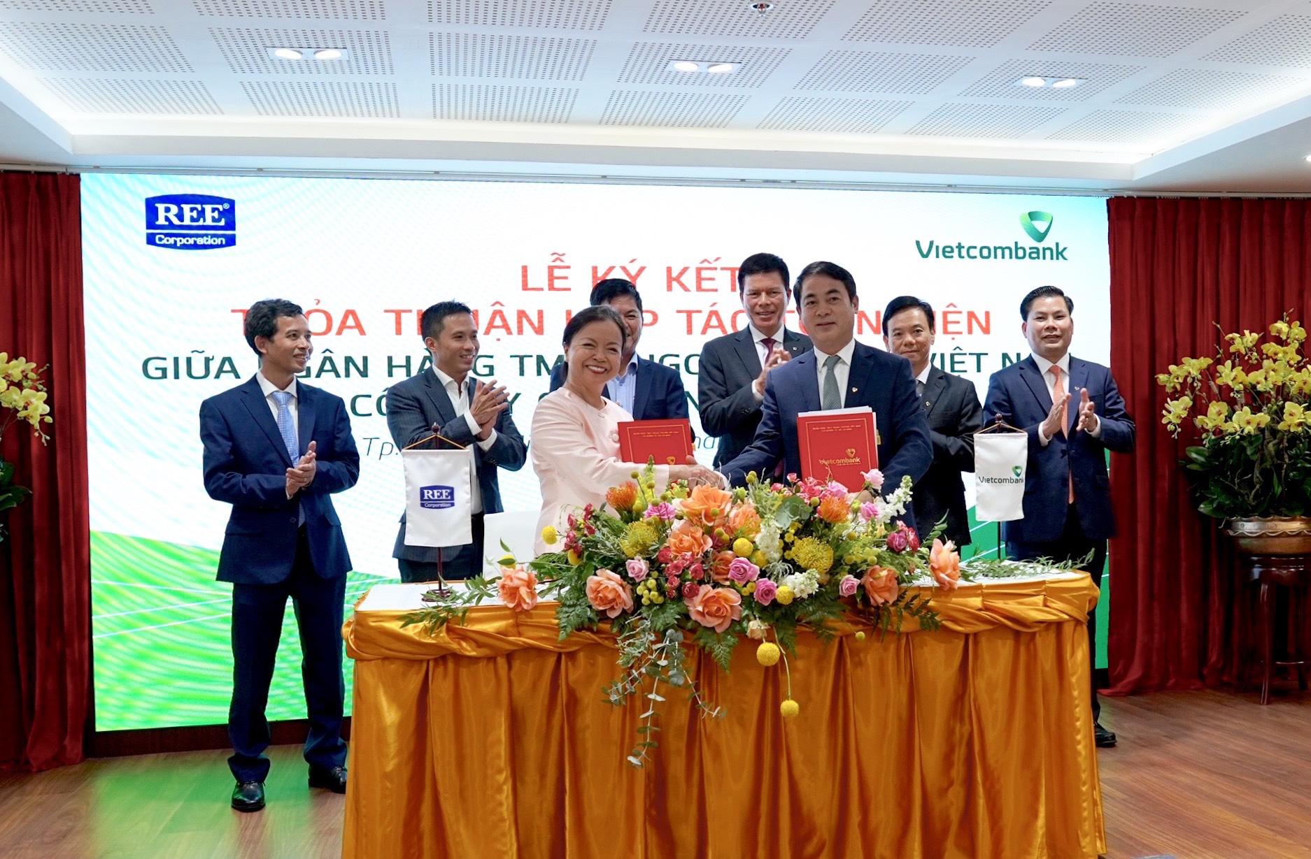 Vietcombank và REE Corporation ký kết Thoả thuận Hợp tác toàn diện - Ảnh 4.