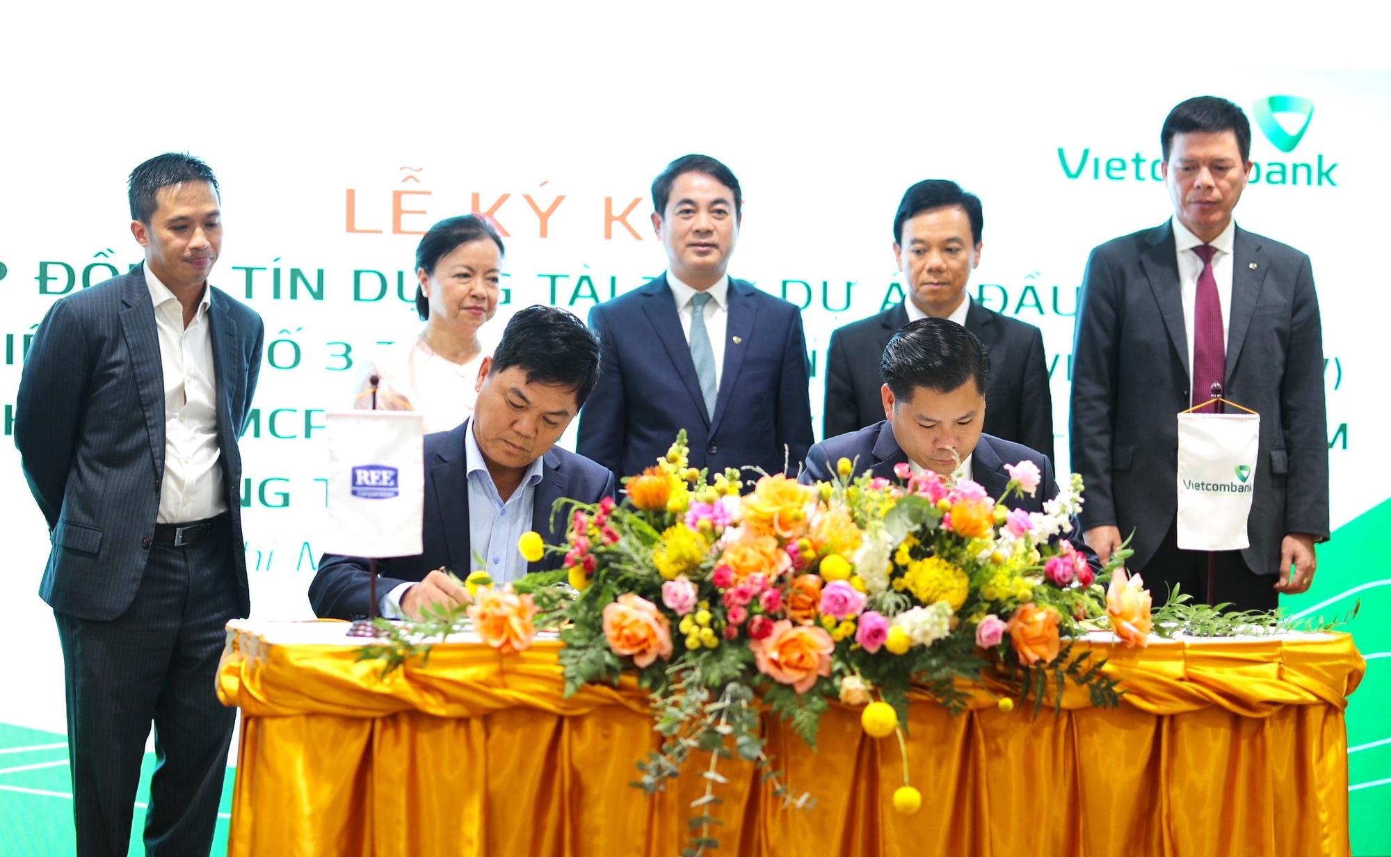 Vietcombank và REE Corporation ký kết Thoả thuận Hợp tác toàn diện - Ảnh 5.