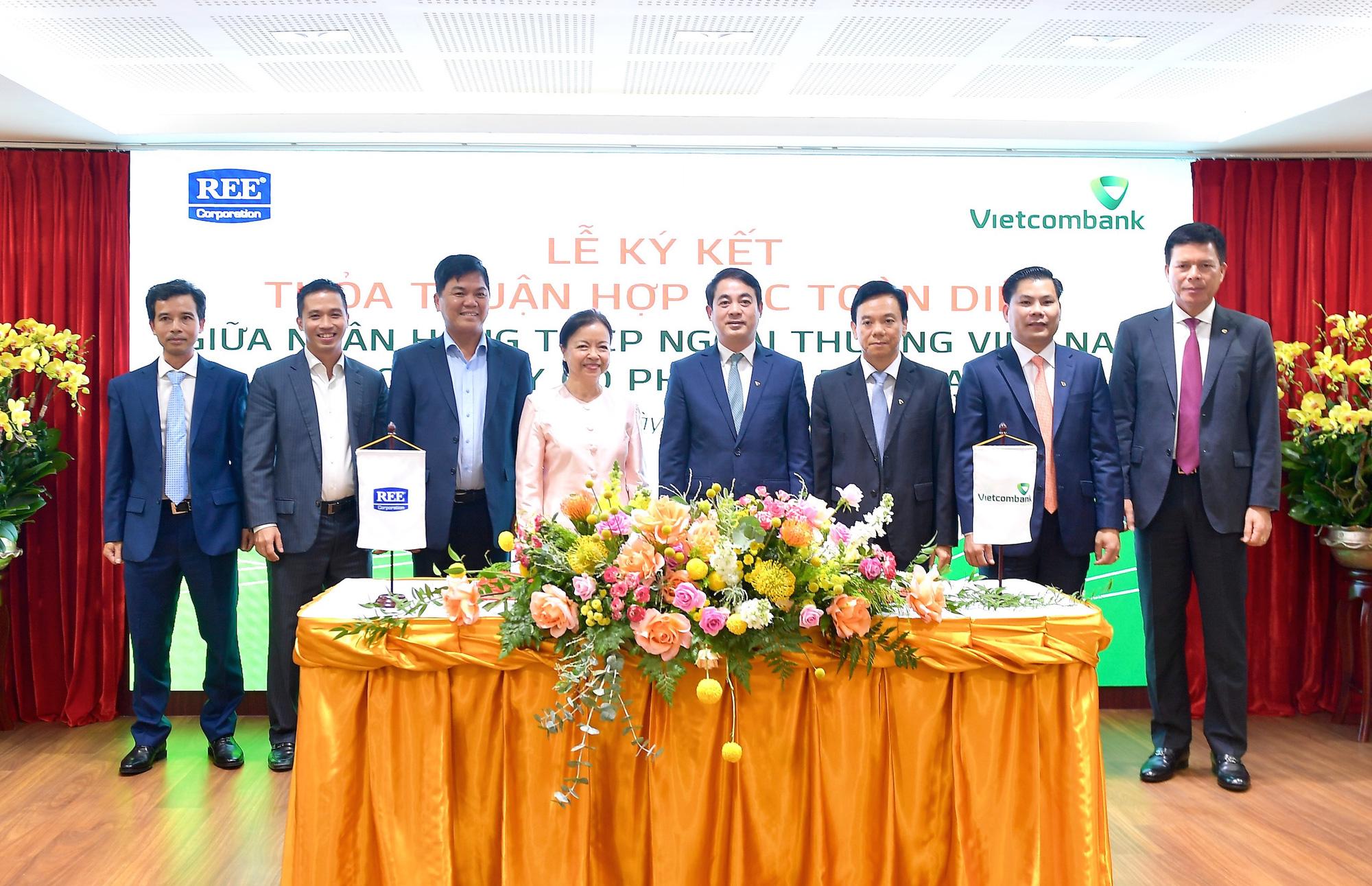 Vietcombank và REE Corporation ký kết Thoả thuận Hợp tác toàn diện - Ảnh 6.