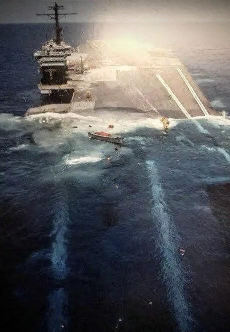 Tàu sân bay Mỹ ba lần đến Việt Nam đã bị đánh đắm ra sao? - Ảnh 9.