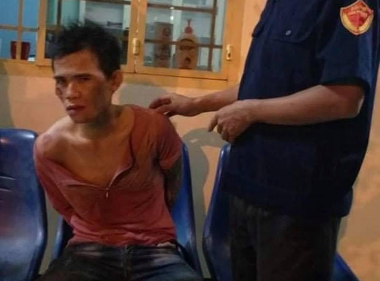 Nghi án gã đàn ông chở vợ và con mới 5 tháng tuổi đi cướp giật - Ảnh 1.