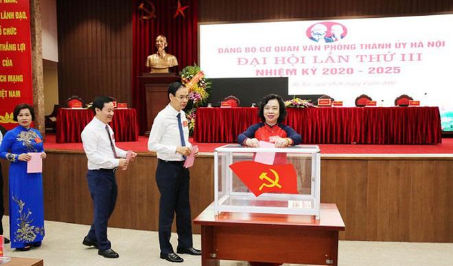 Hà Nội: Thực hiện quy trình công tác nhân sự, kiện toàn các chức danh lãnh đạo - Ảnh 1.