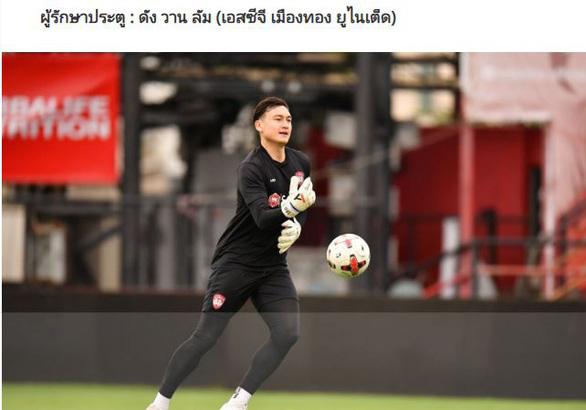 """Tin sáng (22/9): Lọt vào ĐHTB Thai.League, Đặng Văn Lâm nhận """"mưa lời khen"""" - Ảnh 1."""