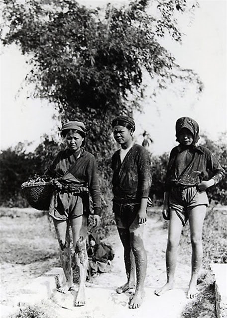 Những bức ảnh cực hiếm về phụ nữ nông thôn Việt Nam đầu thế kỷ 20 - Ảnh 1.