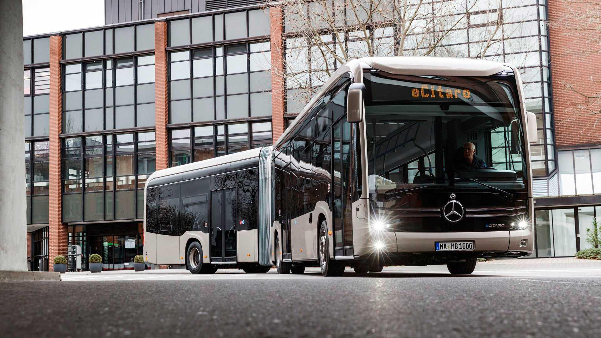 Mercedes-Benz eCitaro G. Ảnh: @Mercedes-Benz.