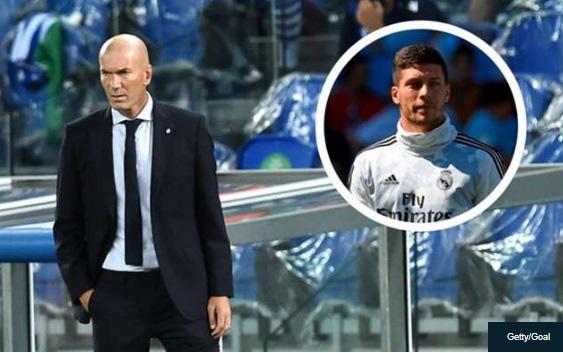 """Bị tố """"trù dập"""" Luka Jovic, HLV Zidane đưa ra câu trả lời - Ảnh 1."""