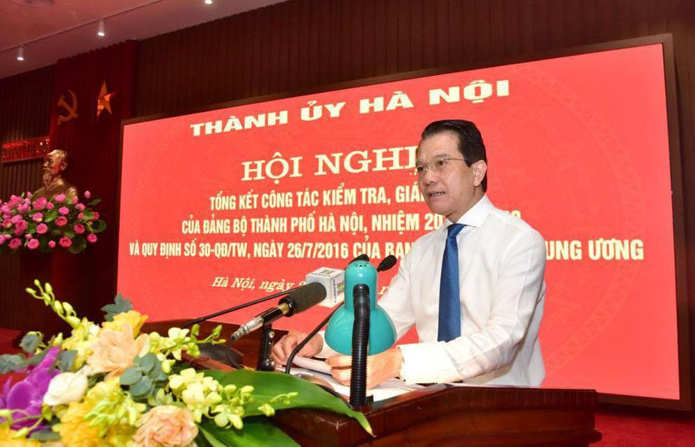 Hà Nội: 5 Thành ủy viên và hơn 4.100 đảng viên bị thi hành kỷ luật trong 5 năm vừa qua - Ảnh 1.