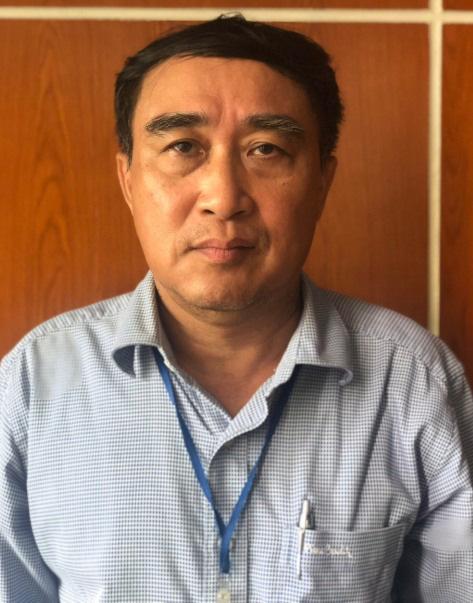 Ông Trần Quốc Hùng, nguyên Tổng Giám đốc Unimex Hà Nội vừa bị khởi tố (Ảnh Bộ Công An)
