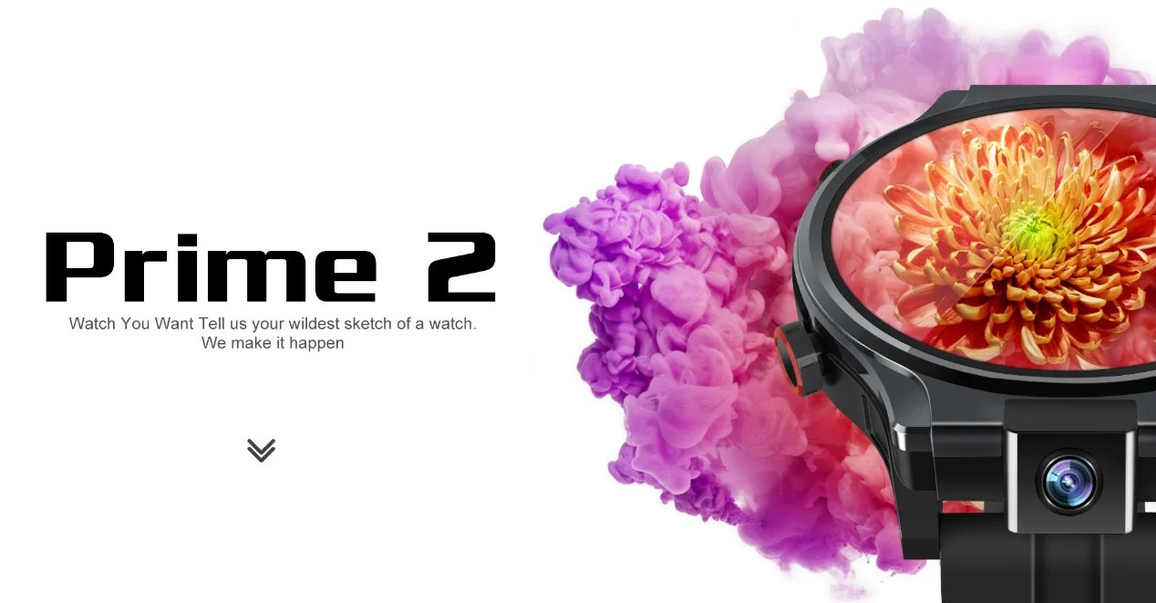 Đồng hồ thông minh Kospet Prime 2 với camera xoay và tính năng mở khóa bằng khuôn mặt  - Ảnh 2.
