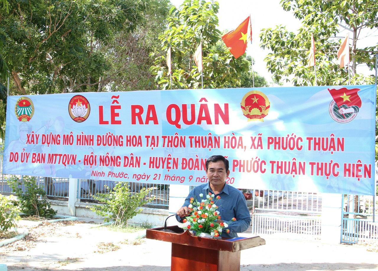 Ninh Thuận: Xây dựng mô hình đường hoa - Ảnh 2.