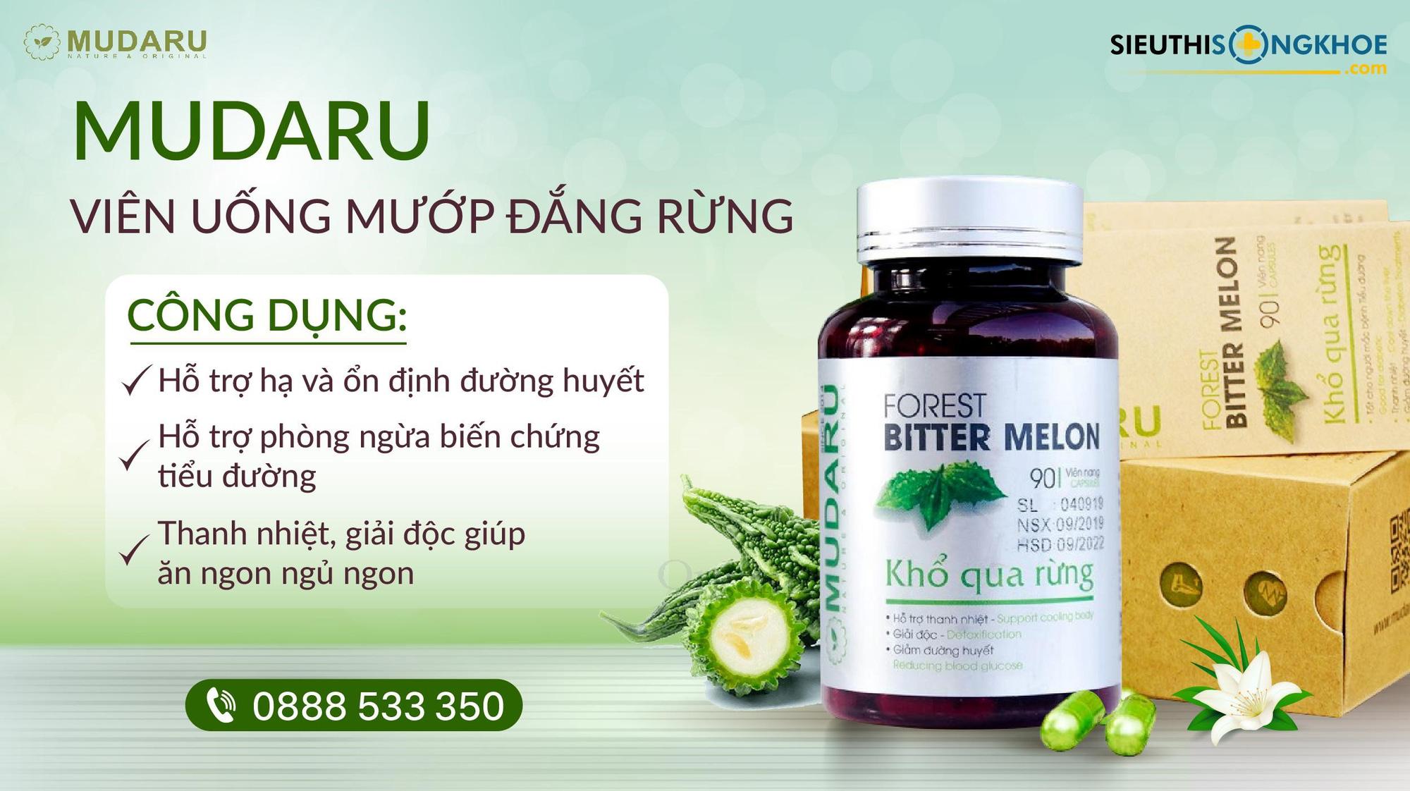 Viên Uống Mudaru - Thực Phẩm Chức Năng Từ Nông Sản Việt - Ảnh 3.