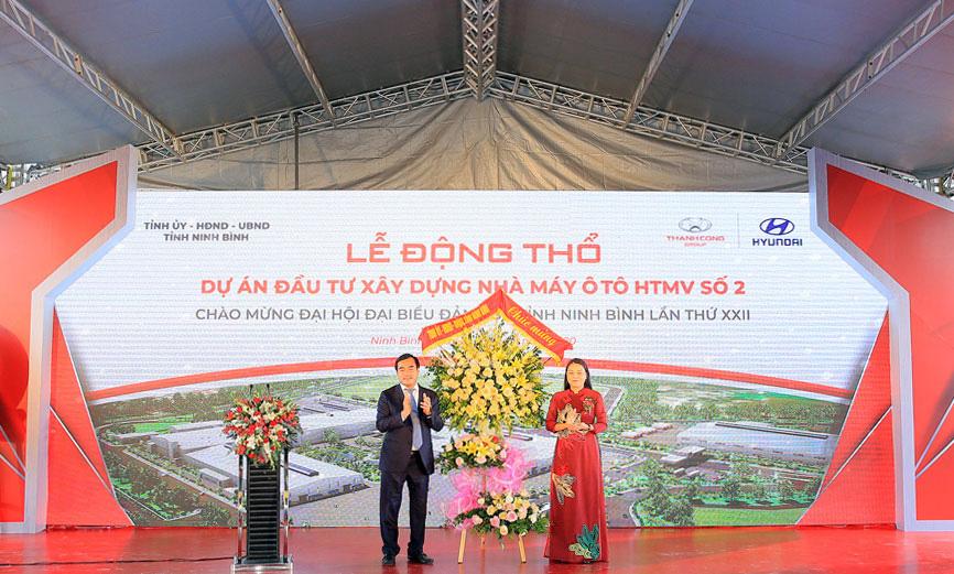 Sản phẩm Hyundai Thành Công tại Ninh Bình với tiêu chuẩn toàn cầu - Ảnh 1.