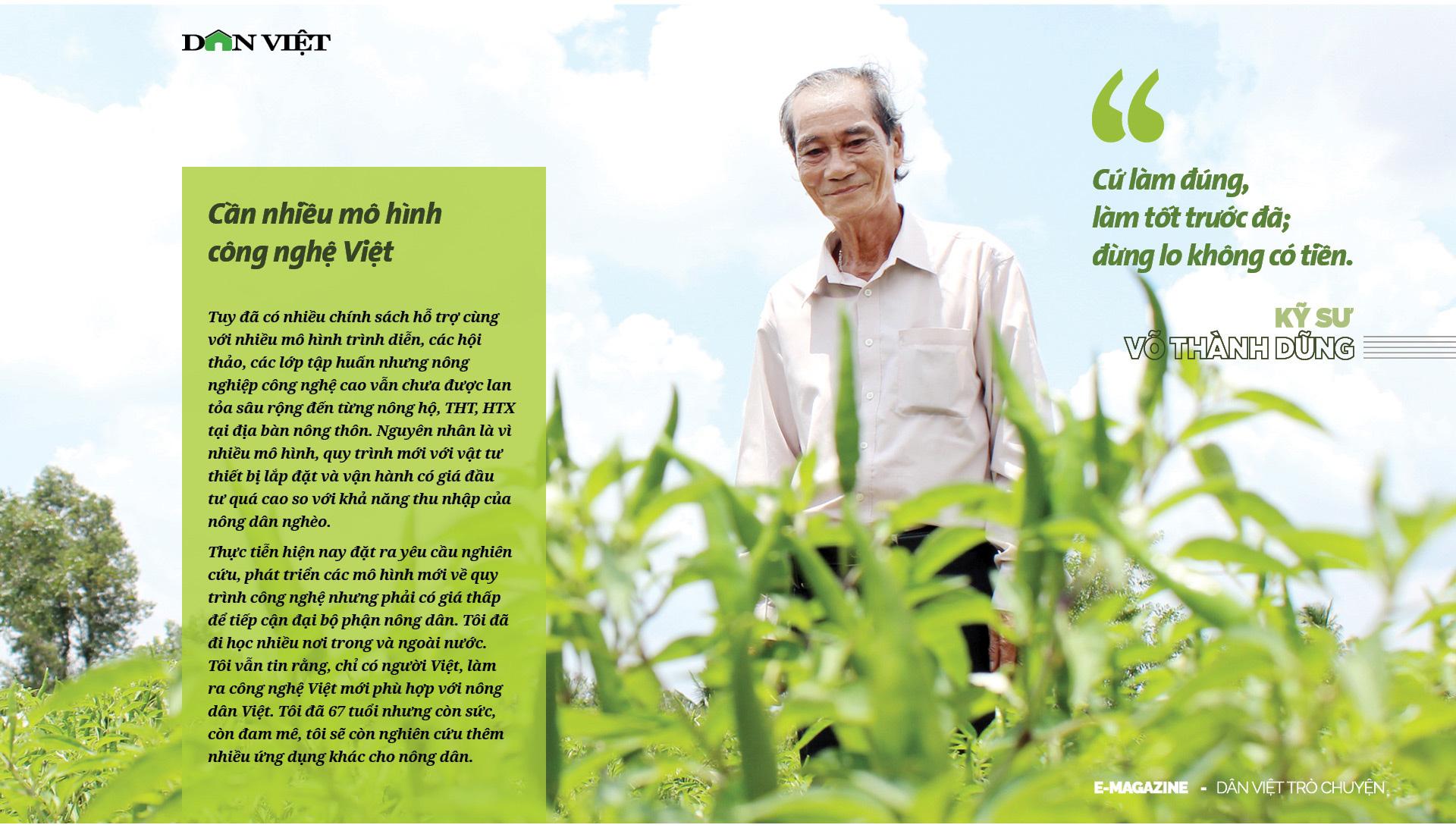 Kỹ sư Võ Thành Dũng: 10 năm đi tìm giấc mơ hữu cơ giá rẻ cho dân nghèo - Ảnh 9.