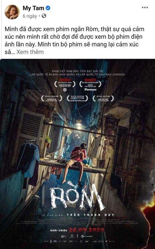 """""""Ròm"""" khiến Trấn Thành kính nể, Mỹ Tâm xem vì lý do đặc biệt, khán giả đánh giá là phim bom tấn hay nhất 2020 - Ảnh 4."""