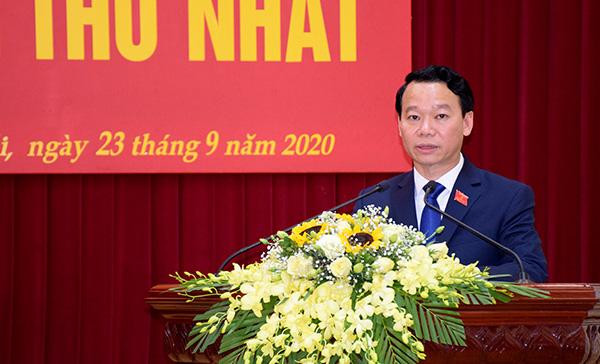 Ông Đỗ Đức Duy trúng cử chức Bí thư tỉnh ủy Yên Bái với số phiếu 100% - Ảnh 2.