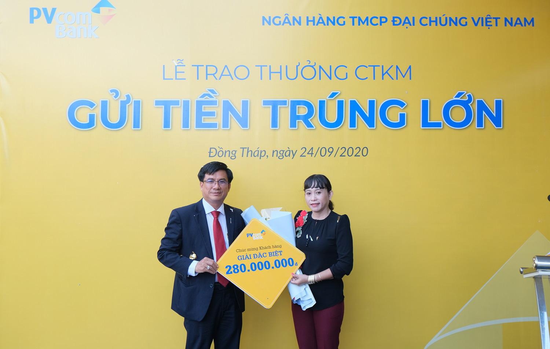 PVcomBank trao tặng gần 330 triệu đồng cho khách hàng may mắn - Ảnh 1.