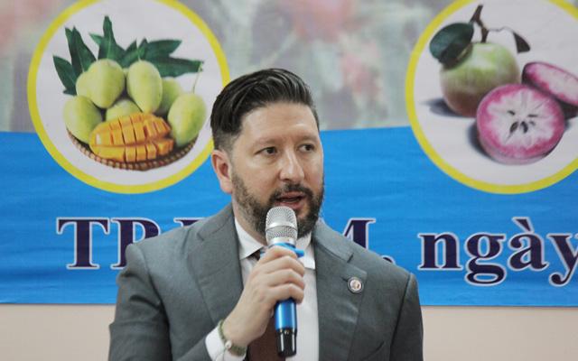 Chuyên gia kiểm dịch trái cây xuất khẩu của Mỹ làm việc trở lại: tin vui chồng tin vui - Ảnh 5.