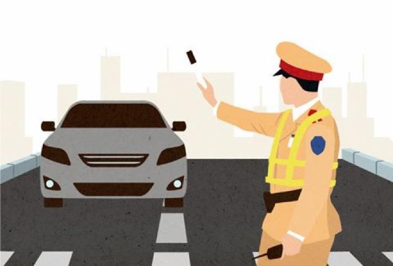 Quy trình dừng xe sai phạm của cảnh sát giao thông - Ảnh 1.