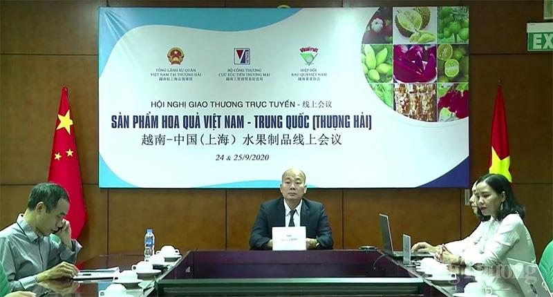 Trái cây Việt chinh phục thị trường Thượng Hải  - Ảnh 1.