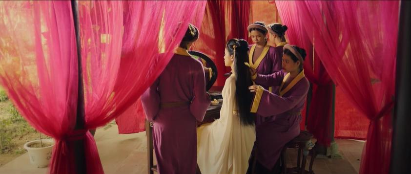 Hé lộ những hình ảnh đầu tiên về nàng Kiều trong phim của Mai Thu Huyền - Ảnh 2.