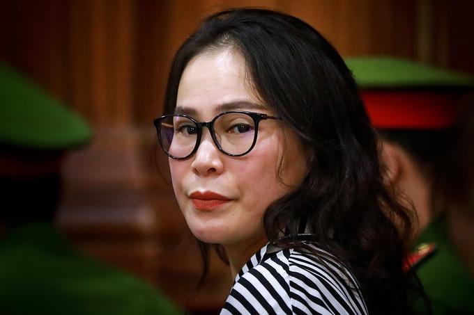 Bà Lê Thị Thanh Thúy kháng cáo kêu oan - Ảnh 1.