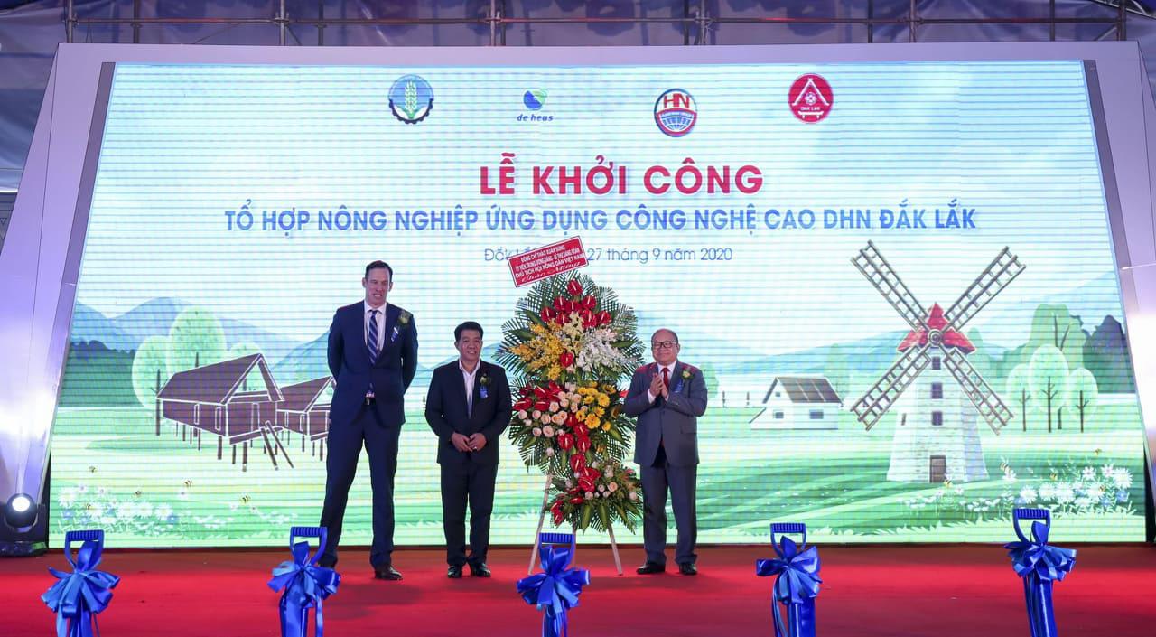 Chính thức khởi công dự án nông nghiệp công nghệ cao DHN Đắk Lắk, rộng 200ha, quy mô 1.500 tỷ - Ảnh 5.