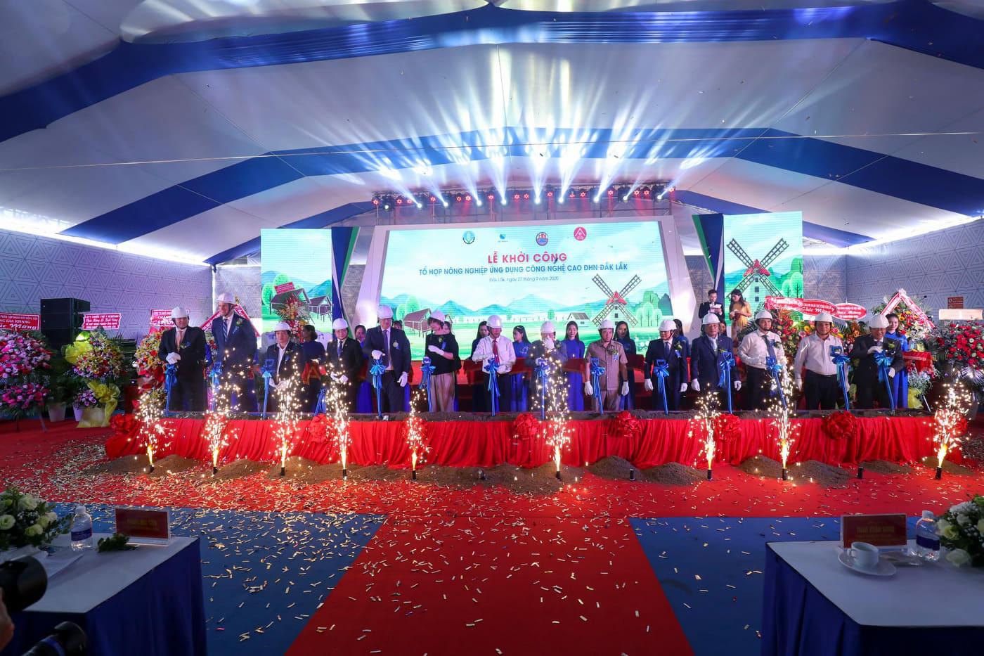 Chính thức khởi công dự án nông nghiệp công nghệ cao DHN Đắk Lắk, rộng 200ha, quy mô 1.500 tỷ - Ảnh 2.