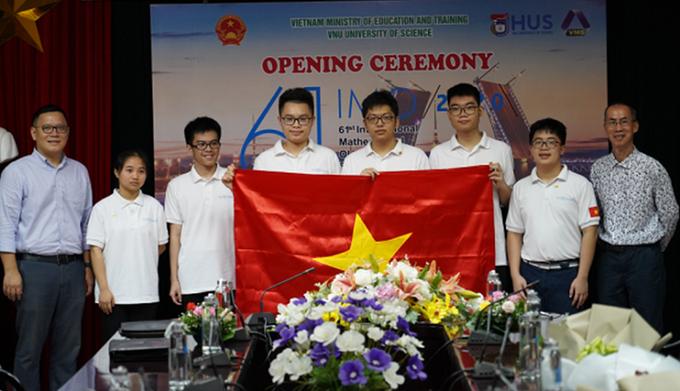 Đoàn Việt Nam đạt thành tích cao tại Olympic Toán học quốc tế IMO 2020 - Ảnh 1.