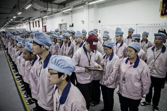 Pegatron - một trong 5 đối tác sản xuất linh kiện của Apple, Microsoft, Sony dự định rót 1 tỷ USD vào 3 dự án tại khu công nghiệp Đình Vũ (Hải Phòng). - Ảnh: Blomberg