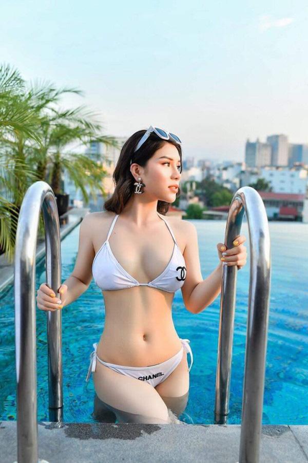 CEO 9x gợi cảm từng diễn chung với NSƯT Quang Tèo ghi danh tại Hoa hậu Việt Nam 2020 - Ảnh 2.