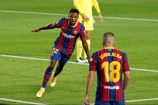 """Barca đè bẹp Villarreal, HLV Koeman đưa thần đồng Fati """"lên mây xanh"""" - Ảnh 1."""