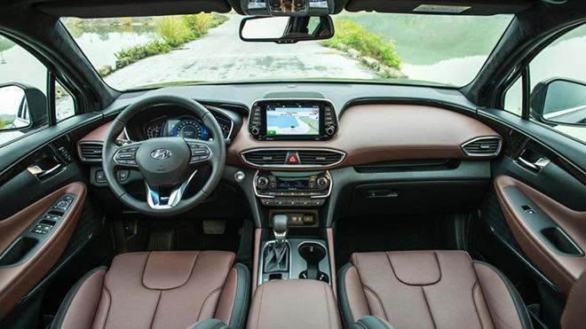 Hyundai SantaFe được khuyến mại tiền mặt khủng, giá hiện tại bao nhiêu? - Ảnh 3.