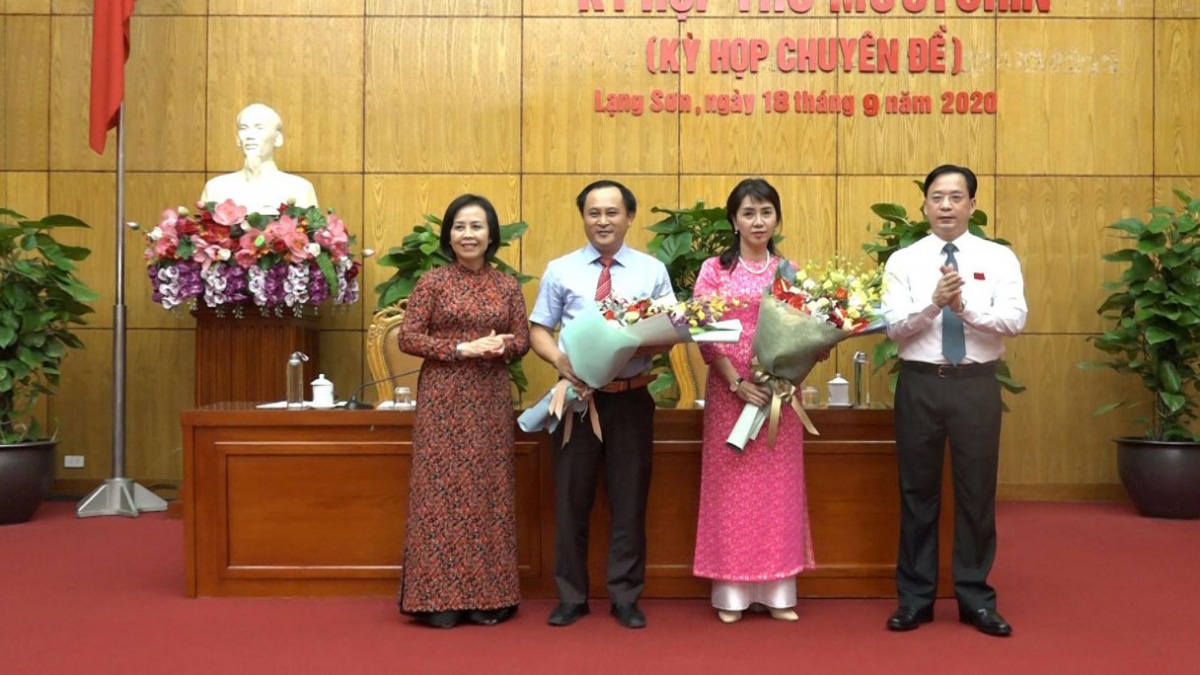 Phê chuẩn 2 Phó Chủ tịch tỉnh tuổi 41 và 44 - Ảnh 1.