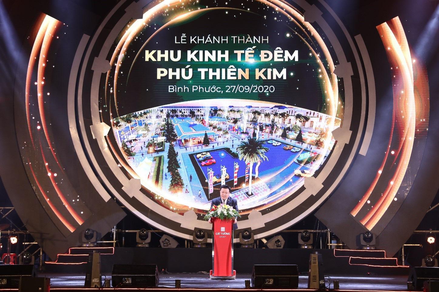 Chính thức khánh thành Khu kinh tế đêm đầu tiên tại thành phố Đồng Xoài - Ảnh 2.