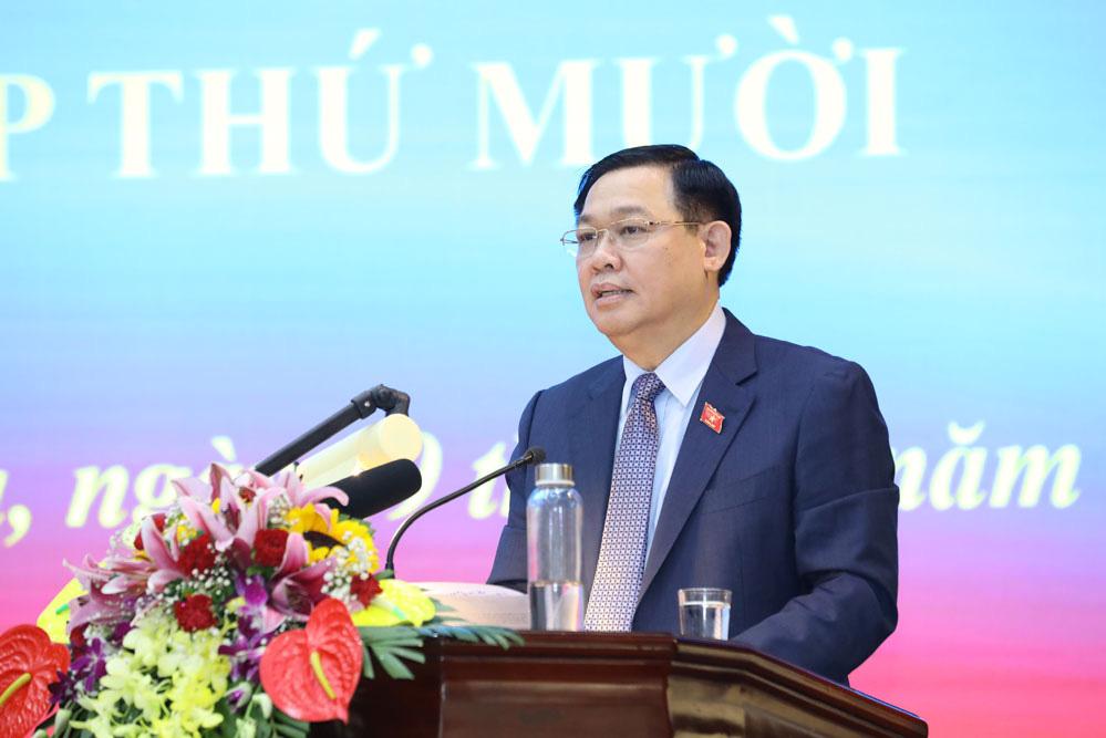 """Bí thư Thành ủy Hà Nội: """"Không nói suông, nói là làm để gây dựng uy tín, niềm tin của cán bộ"""" - Ảnh 1."""