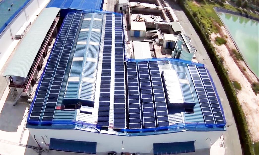 Hơn 350 tỷ đồng đã được EVNSPC thanh toán cho sản lượng điện mặt trời mái nhà phát lên lưới - Ảnh 1.