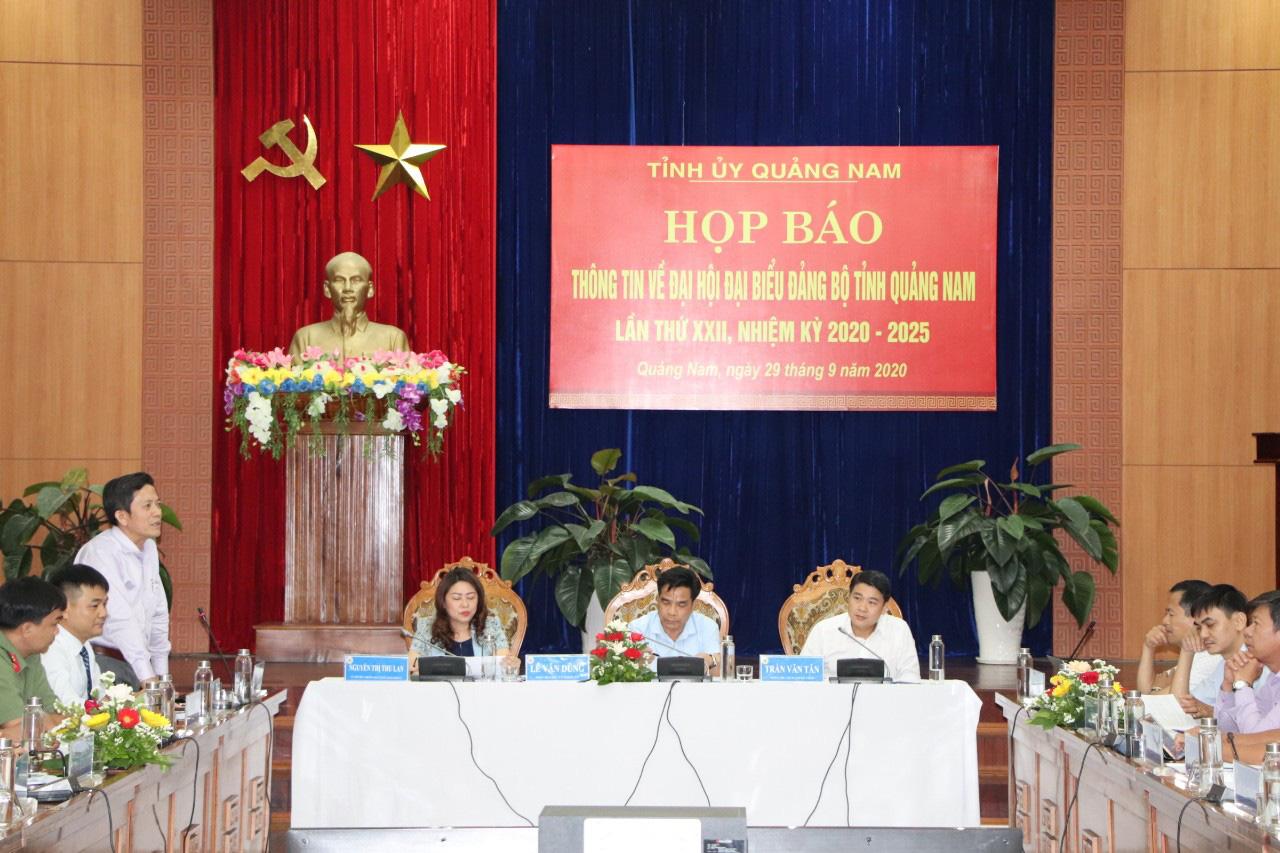 Quảng Nam: Bí thư và các Phó Bí thư tỉnh khóa XXI tiếp tục ứng cử khóa XXII - Ảnh 1.