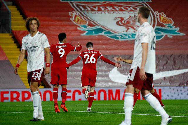 Thua ngược Liverpool, Arsenal lập kỷ lục siêu tệ - Ảnh 1.