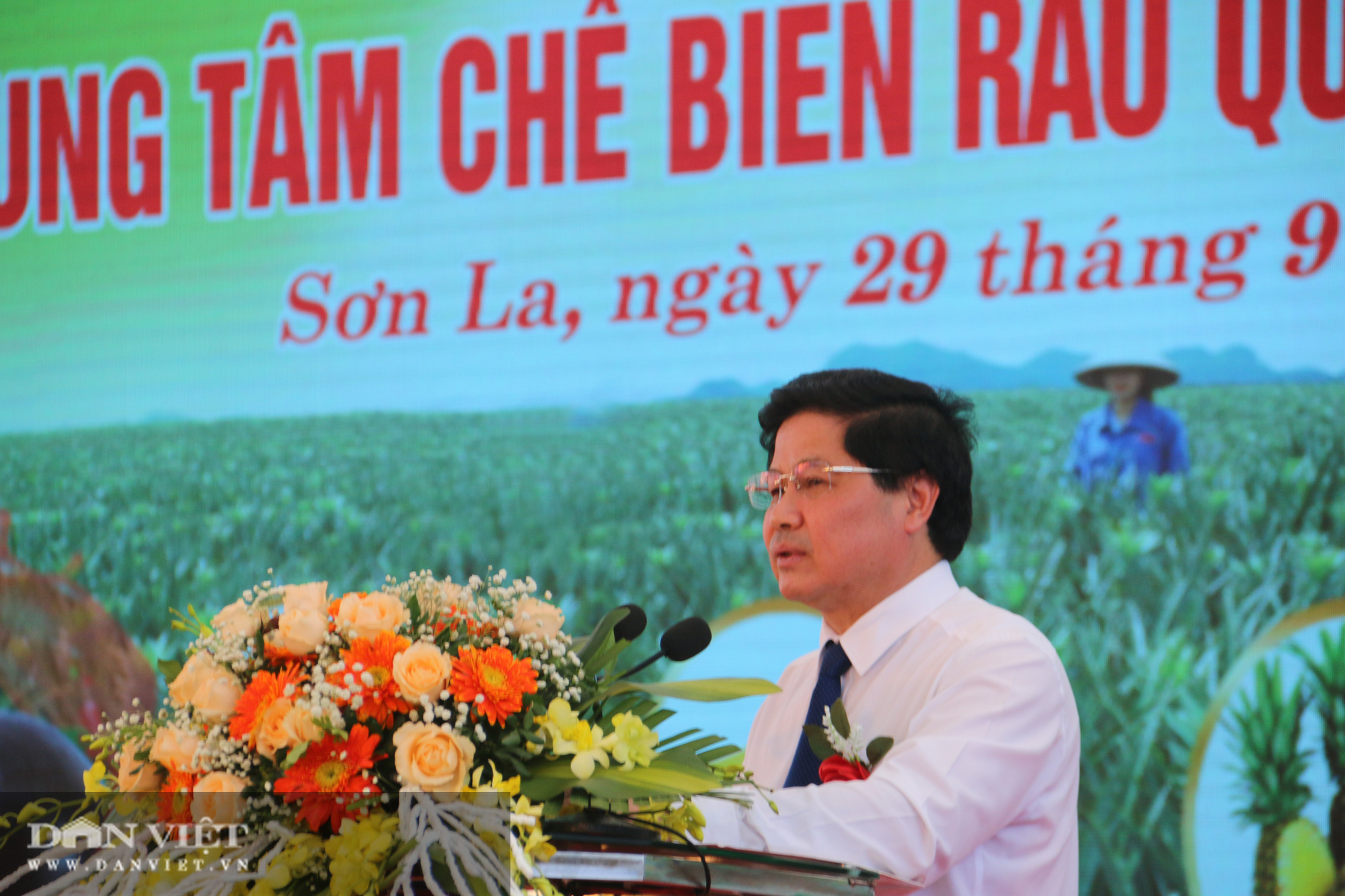 Sơn La: Khởi công xây dựng trung tâm chế biến rau, quả - Ảnh 2.
